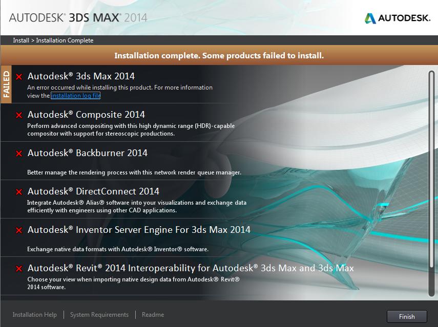 Khắc phục cài 3Ds Max bị lỗi.