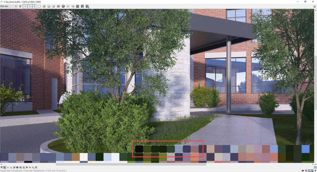 MinUp render SketchUp với CPU Xeon E3 1230V3 có 8 bucket chạy.