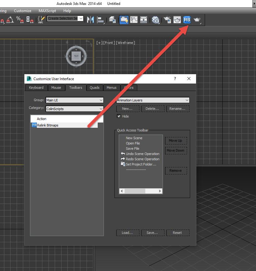 Cách cài Relink Bitmaps trong 3Ds Max.
