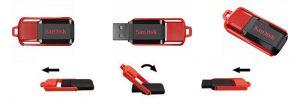 USB 2.0 Sandisk Cruzer Edge CZ52 16GB