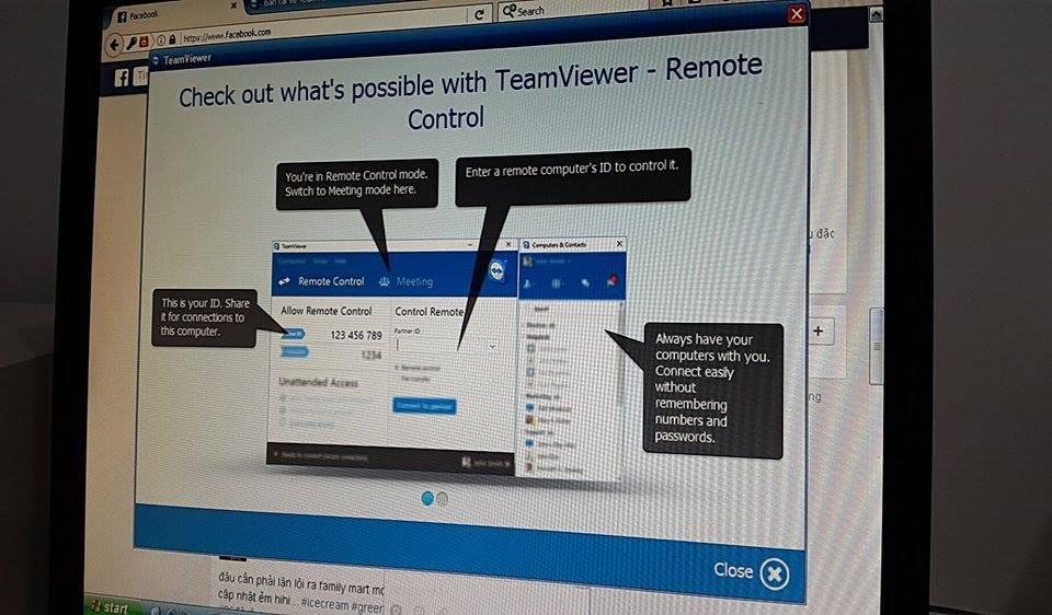 Cài đặt và sử dụng Teamviewer