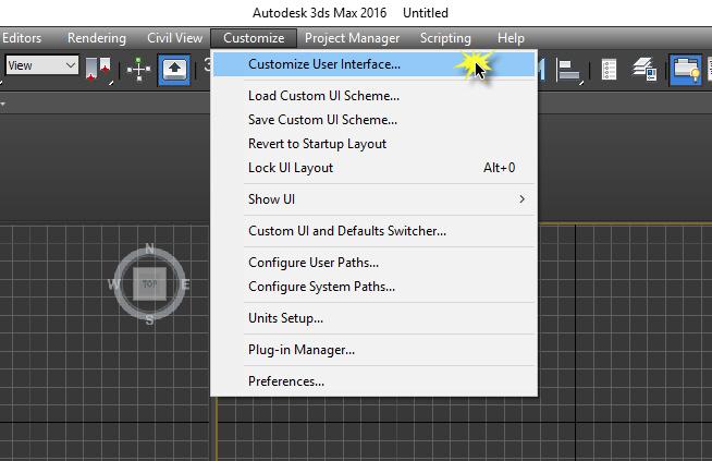 Cài đặt phím tắt cho Copy Paste 3Ds Max