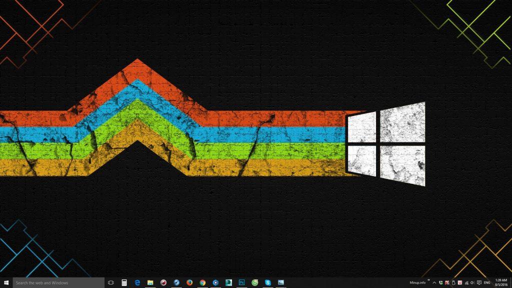 Tổng hợp hình nền Windows 10 đẹp.