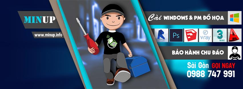 Dịch vụ cài Win và phần mềm đồ họa tại nhà.
