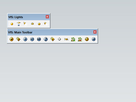 Vray 3.4 SketchUp có icon mới
