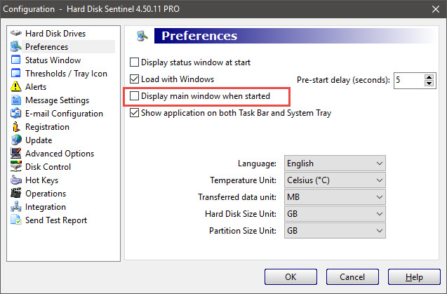 Sử dụng Hard Disk Sentinel Pro