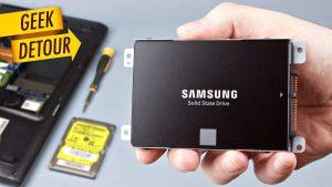 Nâng cấp SSD cho laptop