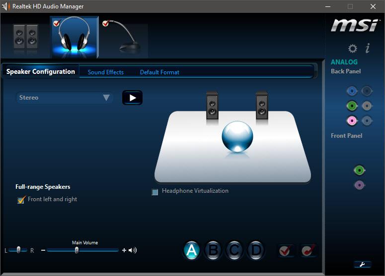 Driver âm thanh Realtek