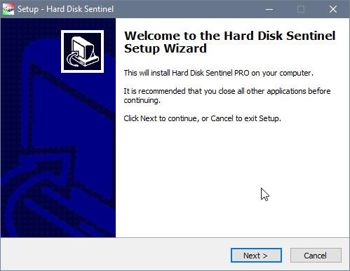 Cài đặt Hard Disk Sentinel