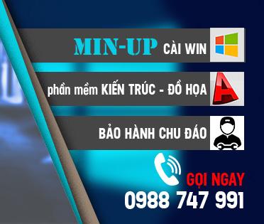Quảng cáo dịch vụ MinUp